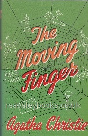 Modern First Edition Books A - L : Beale - Cleave : The Moving Finger  **Miss Marple Facsimile Edition, First Thus**