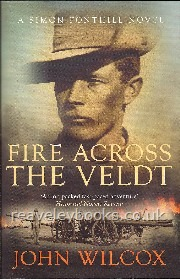 Fire Across The Veldt (Simon Fonthill novel)  **signed and dated first edition**