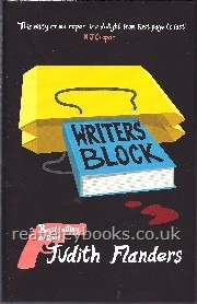Writers Block  **signed first edition**
