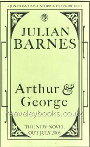Arthur and George  **uncorrected proof**