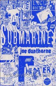 Submarine  **first edition**